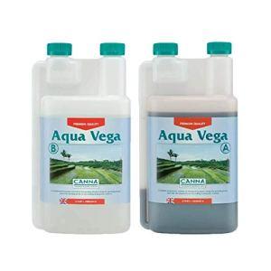 Engrais pour Culture de Canna Aqua Vega A+B (2x1L)