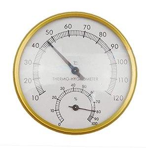 finebrand Extérieur Intérieur Sauna Fournitures Multifonctions Sauna Thermomètre Inductif Pointeur Accueil Intérieur Cadran Hygromètre Hygromètre