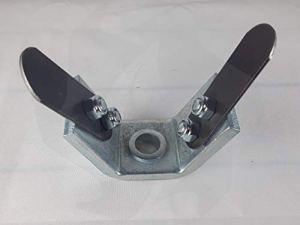 Fraise sabot universelle en aluminium MATADOR pour débroussailleuse à deux dents professionnelle