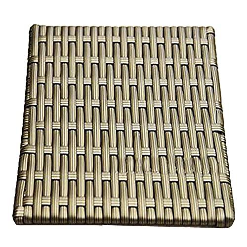 Ganmek Matériau De Réparation en Rotin Tissé Synthétique Rotin Matériel De Tissage pour Meubles De Jardin Terrasse Banc Chaise Table Réparation Chaise Table Ménage Boîte De Rangement Meubles Usual