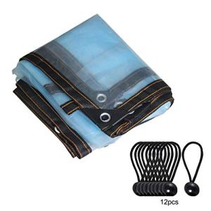 Geepaul Bâche de protection contre le soleil en tissu résistant aux UV pour serre, piscine, terrasse, cour