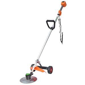 Handheld lawn mower 48V sladdlös gräsklippare, 12 Ah batteri Och laddare, uppladdningsbar gräsklippare, elektrisk borstklippare, gräsklippare, gräsklippare, gräsklippare, ryggsäck för trädgårdsskörd