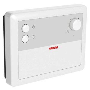 Harvia I CF9 Commande de sauna avec capteur de température avec thermostat de sécurité I Senselog I Pour tous les poêles de sauna jusqu'à 9 kW I Sauna finlandais I