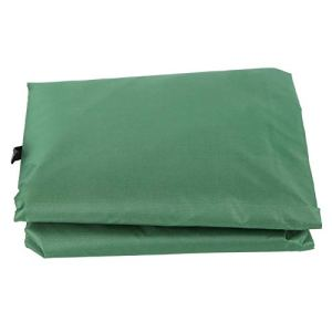 Housse de Coussin d'oscillation de Cour, Housse de siège Suspendue en Tissu de Taffetas de Polyester de qualité 190T, ne Se décolore Pas pour Le Bureau à Domicile(Green, 120 * 3mm)