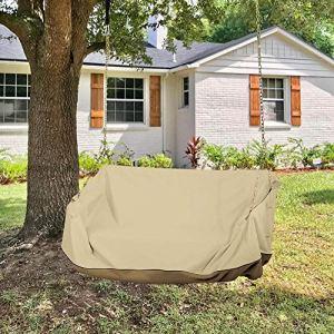 Housse de protection imperméable pour balancelle de jardin 142 x 63 x 81 cm (L x l x H)
