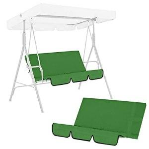 Housses de coussin de remplacement pour siège, housse de siège étanche, coussins de balançoire pour mobilier d'extérieur et de porche