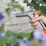 JHXL Tuyau d'arrosage fixé avancée télescopique Automatique de Recyclage Camion de Conduite d'eau Mural Enrouleur de Tuyau d'eau avec Un Pistolet de pulvérisation et des connecteurs de Haute qualité