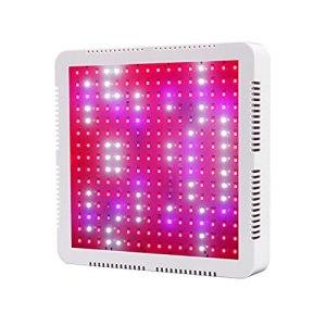 KANGDILE 40W LED Grow Light, 240 LEDs UV IR Rouge Rouge Spectrum Spectrum PLANCHELLEMENT Panneau d'ampoule pour semis intérieur, végétal et Floraison (Plug Type : European regulations)