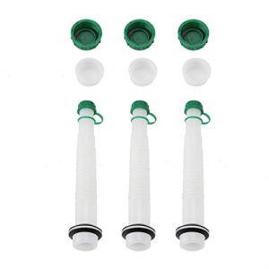 Kit de capuchon de bec pour carburant remplaçable, 3 jeux de kit de capuchon de bec pour carburant de remplacement(1L)