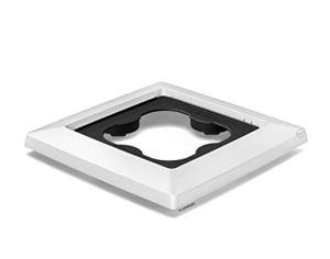 LECHUZA 13425 Support à Roulettes Cubico Color/Cottage/Premium 30 Blanc,