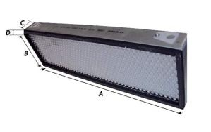 LEM Select Filtre de Cabine 3651506M92 Adaptable Landini McCormick