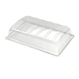 Lot de 3 couvercles en plastique transparent pour propagateur