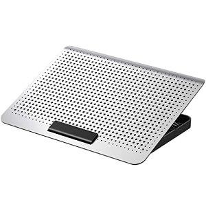 LOVSE Radiateur ventilateur silencieux en alliage d'aluminium pour ordinateur portable à la maison ou au bureau