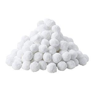 MVPower Balles Filtrantes, Boules de Filtre de Piscine 700g, Alternative pour 25kg de Sable filtrant, Filtre pour Piscine, Adaptent à Tous Les filtres à Sable ou Verre existants, Bon Effet de Filtre