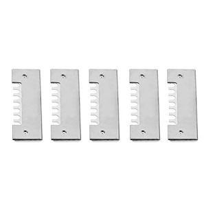 OIHODFHB Lot de 5 portails d'entrée en acier inoxydable anti-fuite