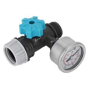 Omabeta Réducteur de Pression réducteur de Pression vanne de Pression d'eau régulateur de Pression 8.5x5cm régulateur de Pression d'eau pour Jardin
