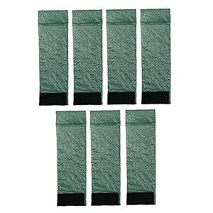 Pelouse Bordures Bricolage Amovible Potager Bordure Amovible En Plastique Accessoires À Effet De Serre Vert Barrière Ferme