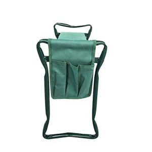 Pochette à outils de jardin, poches latérales de siège de genou de jardin, sac de tissu de chaise de tabouret de genou pliant, poche de rangement de banc de genou pliant portable, sac seulement