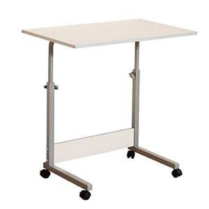 Produits ménagers/meubles Réglable Portable Table PC portable Bureau de socle de l'ordinateur Hauteur mobile Travailler avec roues for la lecture canapé-lit (Couleur: A) (Color : B)