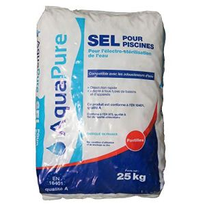 Sel Piscine en pastilles pour électrolyse Neptune – Sac de 25 kg