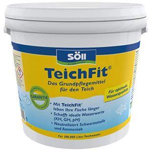 Söll TeichFit – Produit de Soin de Base pour l'étang du Jardin 10 kg