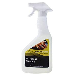 Spray Nettoyant Dégraissant pour Plancha – Vaporisateur 750 ml – Incolore / Inodore – Cook'In Garden