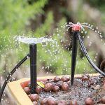 Wifehelper 20pcs Irrigation goutteurs réglable Micro Irrigation Goutte à Goutte 8 Sortie d'eau Jardin arroseur goutteur Outil d'arrosage