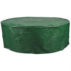 WOLTU GZ1162 Housse de Protection pour Table de Jardin Ovale imperméable 70x180x120cm,Vert