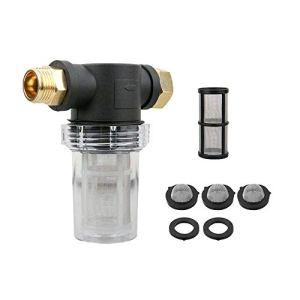 XJF Filtre de tuyau d'arrosage pour nettoyeur haute pression