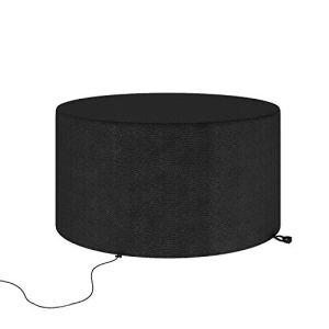 Yunxi Housse de protection pour table de jardin, imperméable, coupe-vent, anti-UV 600D – Tissu Oxford robuste – 128 x 71 cm