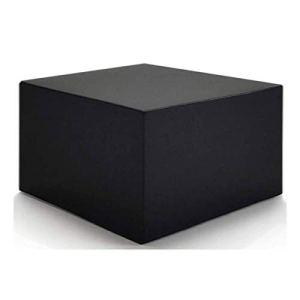 ZHCHL Housse Table Jardin Carre 90x90x90cm, Housse Table De Jardin Noir Tissu Oxford Iimperméable Anti-UV Housse De Meuble Housse, pour Extérieur, Terrasse