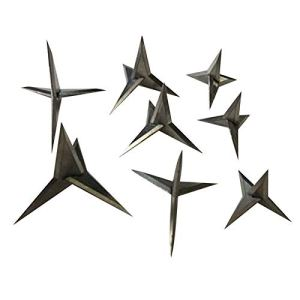 ZHQHYQHHX 10pcs / lot Triangle Professional Pneu Crevaison Ongles for Spike Anti-vol de Voiture de sécurité for véhicules d'urgence Clou (Color : 2.5CM, Size : Libre)