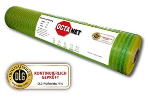 1 rouleau de filet OCTANET Comfort – Certifié DLG – 1,23 x 3000 m – Jaune/vert