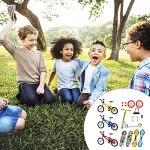 18pcs Doigt Modèle Jouet Ensemble, Mini Jouet éducatif Pour Enfants Simulation Doigt Vélo Planche à Roulettes Planche De Vitalité Scooter à Deux Roues Doigt Mobile Cadeau De Vacances Pour Enfants Amis