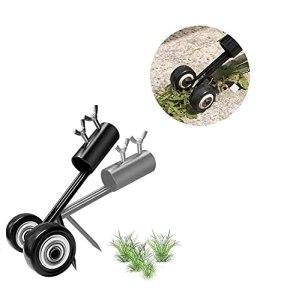 Arracheur de mauvaises herbes, extracteur de mauvaises herbes pour trottoir en acier inoxydable, outil de désherbage de fissures et de crevasses