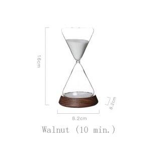 ASDZ Minuterie sablier 30 Minutes et Demi-Heure Cadeau Cadeau pour Amis créatifs Accessoires pour la Maison décoration Cadeau Assistant de Gestion du Temps