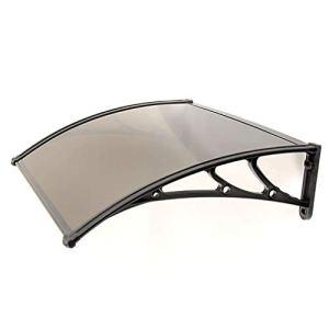 Balancelles avec auvent Extérieur Couverture Porte fenêtre Jardin Canopy Patio Porche Auvent Abri, Facile à Installer en Plein air Canopy et Abri (Size : 100 * 150cm)