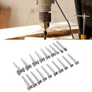 Bediffer Lot de 19 forets à bois professionnels pour le travail du bois