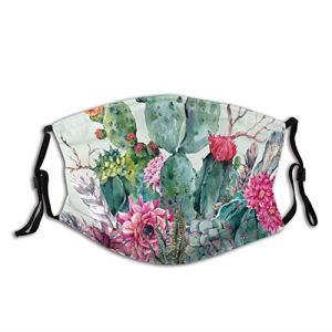 Bouquet de plantes épineuses confortables et coupe-vent, avec plumes de style bohème, imprimé pour adulte blanc