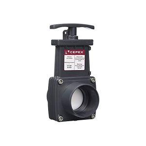 Cepex -ø 63 mm, Une vanne à Guillotine en PVC.-IN-SVG063