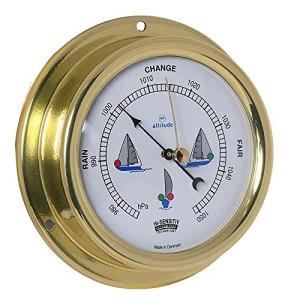 Delite 858buk Altitude Baromètre laiton 125 mm x 40 mm
