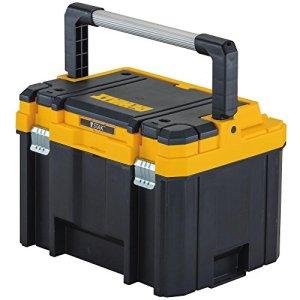 DEWALT TSTAK DWST17814 Boîte à outils profonde et longue poignée