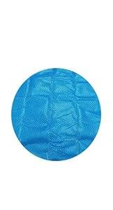 DIMOA Couvercle de Piscine Piscine Couverture, imperméable, Anti-poussière, Anti-Ultraviolet, Couverture d'hiver pour la Piscine familiale, (Bleu)