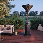 Enders Housse de Protection Contre Les intempéries pour Chauffage de terrasse Modèle Elegance/Event, Noir, 80x 80x 225cm
