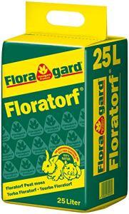 Floratorf Pure Peau blanche non diluée pour améliorer le sol, pour plantes viandes 25 Liter Terre cuite