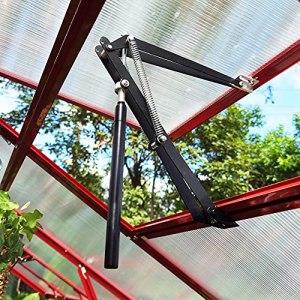 G-More Ouvre-fenêtre automatique pour abri de jardin Lève-vitre pour serre Contrôle de la température Cylindre de rechange 45 cm Hauteur d'ouverture 7 kg