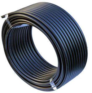 HD-pE tube conduite d'eau de l'eau de tuyaux d'irrigation de direction plastique noir 25mm x 25Meter noir