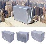 idalinya Climatiseur Couverture Extérieure Couverture Complète Anti-Poussière Anti-Neige Imperméable Sunproof pour La Maison 3 Tailles(2p :l86 w32 h56)