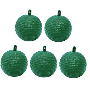 Jardin Fly Ball trap Orchard Plantes Hanging Fruit Fly Catcher Pest Repeller Wasp 5PCS vert, Suspendre Ball trap
