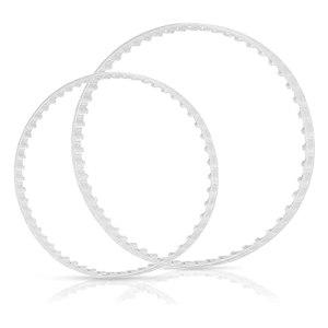 Kaijia Kit de remplacement de ceinture de nettoyage de piscine pratique transparent durable accessoires de piscine facile à installer